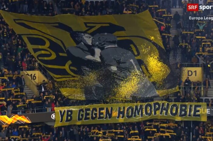 YB-Fans: Deutliches Zeichen gegen Homophobie